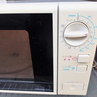 ☆コロナ CORONA DR-510 電子レンジ◆簡単操作で使いやすい − 神奈川県