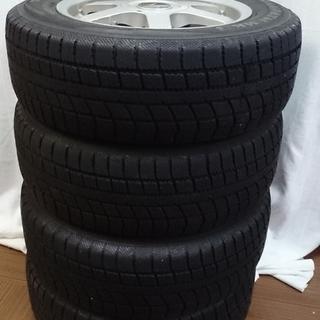 LEBEN 195/65R15 91Q タイヤ・ホイール4個セット