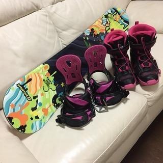 スノーボード キッズ120 ♛ ブーツ ビンディング