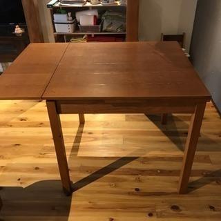 【終了】ACTUS 伸縮ダイニングテーブル - 家具