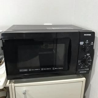 大容量 電子レンジ アイリスオーヤマ 黒 IMB-F183-6