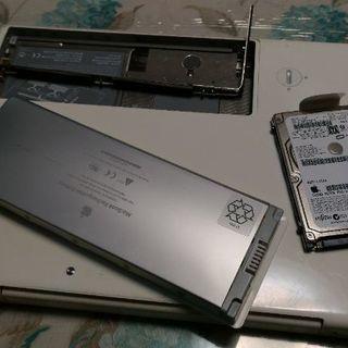 白Macbookジャンク1