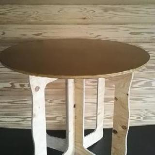 カフェテーブル分解簡単
