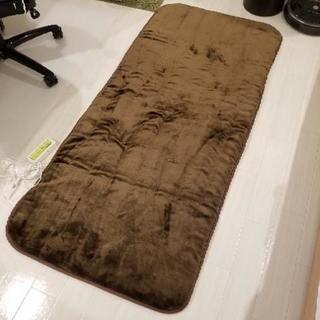 超美品 山善 洗えるホットカーペット 180cm x 80cm