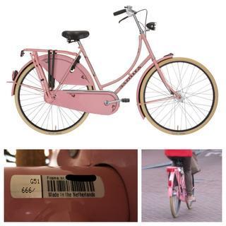 【展示品新品】オランダの実用自転車 完成車