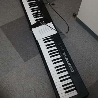 Keystation88 M-audio MIDI キーボード
