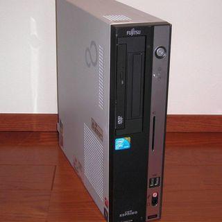 富士通デスクトップ D5290(E7500/4G/160G/Win10)