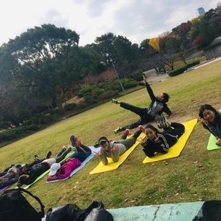 🌈名城公園⛲️ランニング🏃♀️&ワークアウト💪🌈