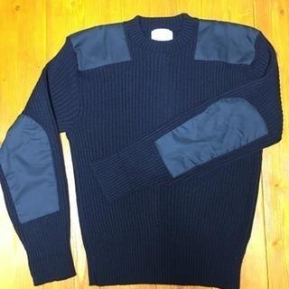メンズ・厚手ニット・セーター・異素材