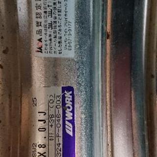 work シュバート ヨコハマタイヤ225/40R18