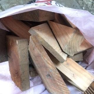 薪ストーブ、薪のお風呂用 建築端材沢山