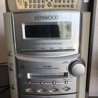 MD/CD/カセットミニコンポ ケンウッド