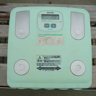 TANITA 脂肪計付ヘルスメーター BF-630 タニタ 体重計