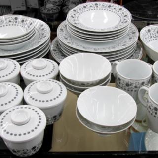 ノリタケ シルバークイーン 41点食器セット カップ ウェア プレ...