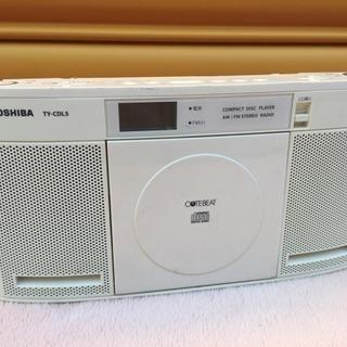 TOSHIBA★CDラジオ★TY-CDL5★