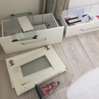 白いキッチンボード − 福岡県