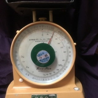 計量器3㎏まで計れます