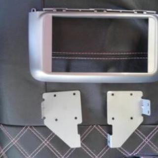 タント L375S  社外デッキ用オーディオの枠