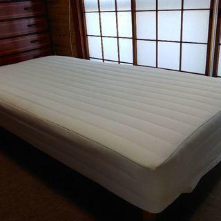 無印良品 マットレスベッド シングルサイズ