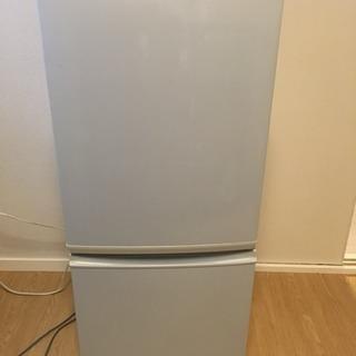 SHARP 冷蔵庫 135L 0円の画像