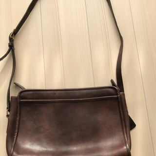 OLD COACH レザーバッグ
