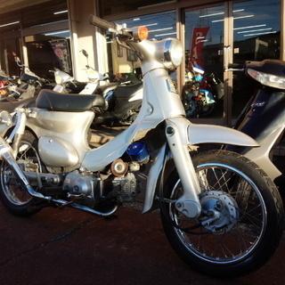 NO.2459 リトルカブ 4サイクルエンジン タケガワマフラー...