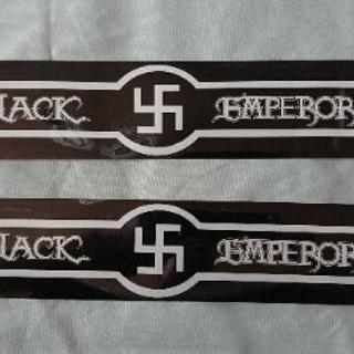ブラックエンペラー ステッカーBLACK卍EMPEROR