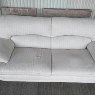 3Pソファー 汚れヘタリあります。