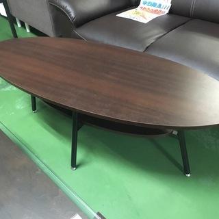 現状品!コーヒーテーブル テーブル センターテーブル 木製 机 リ...