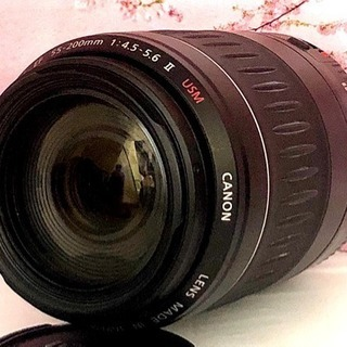 ⭐︎軽量・高機能レンズ★Canon EF 55-200mm USM⭐︎