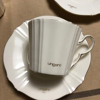 ungaro コーヒーカップ&ソーサー 2客