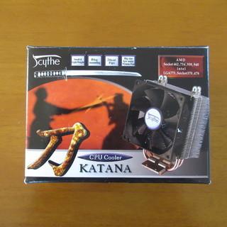 【値下げ】CPUクーラー 刀 KATANA(未使用品)