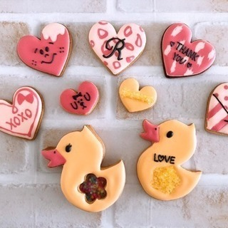 バレンタインやプレゼントに♡アイシングクッキーレッスン