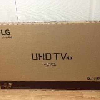 【新品未開封】 エルジー / LG 49UJ6100 4K液晶テ...