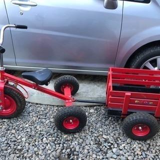 大型三輪車トレーラー