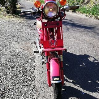 ホンダ郵政カブ(MD50)  いちょう実働 バイク交換も可