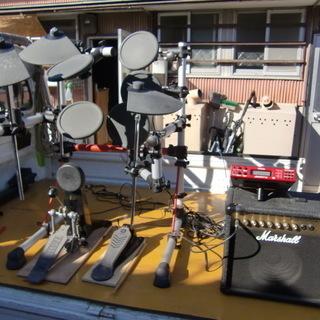 YAMAHA サイレント&ドラム練習機セット 中古