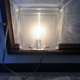 ブロックガラス ライト