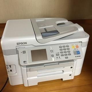 【取り引き先決定】「ジャンク品」EPSON FAX機能付き多機能プリンタ