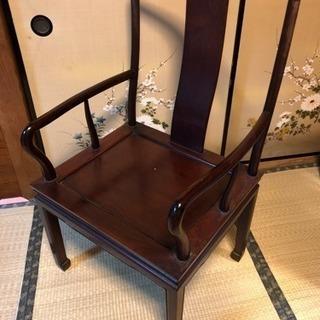 【値下げしました】木製椅子 レトロ
