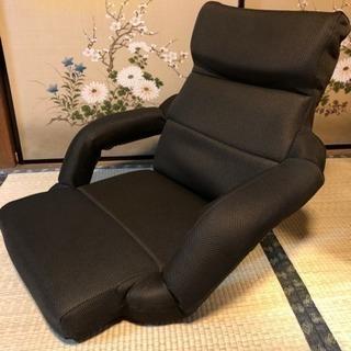 【値下げしました】低反発座椅子 ブラウン