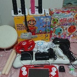 Wiiu マリオメーカー 本体  太鼓の達人 セット売り! 値下げ中