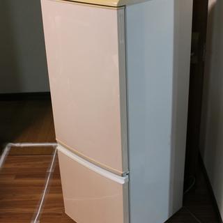 無料 2ドア冷蔵庫 165L シャープ 2005年製 ノンフロン...