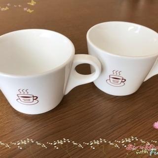 コーヒーカップ 2個セット 100円