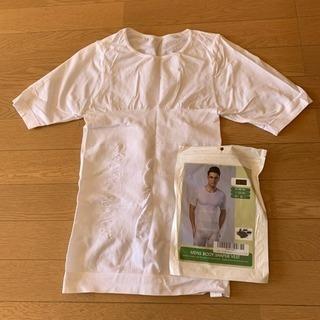 美品‼️ 加圧インナー 加圧下着 加圧Tシャツ サイズL