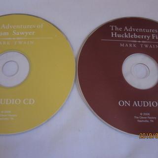 トムとハックの英語版朗読CD