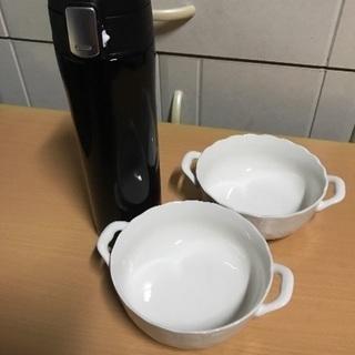 水筒、食器セット、美品