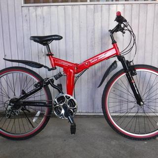 ランボルギーニのマウンテンバイク★ほぼ新品 中古自転車 215