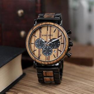 ボボバード 腕時計 木製 ウォッチ