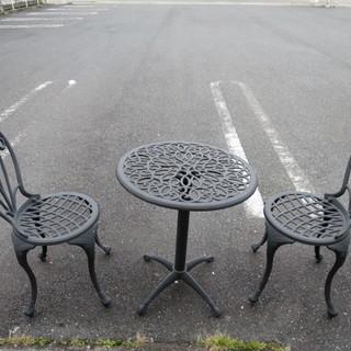 g-style  ガーデンテーブル テーブル&椅子セット 中古品...